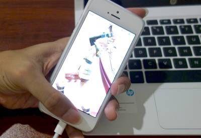 iPhone Mengambil Screenshot
