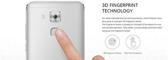 Huawei Nova Plus Fingerprint Sensor