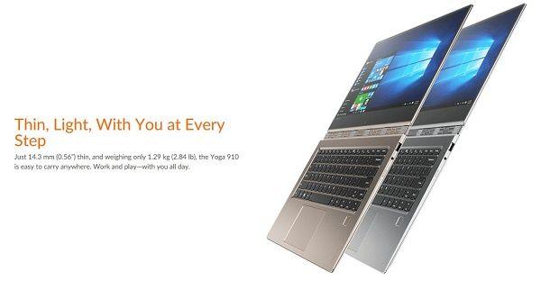 Harga Lenovo Yoga 910 Spesifikasi Header