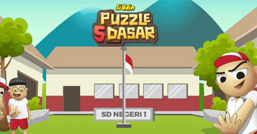 Si Udin Puzzle 5 Dasar feature