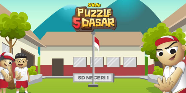 Si Udin Puzzle 5 Dasar