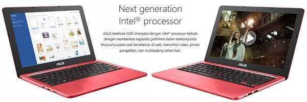 ASUS EeeBook E202 Desain