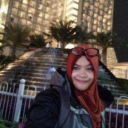 Hasil Foto Selfie Malam Hari