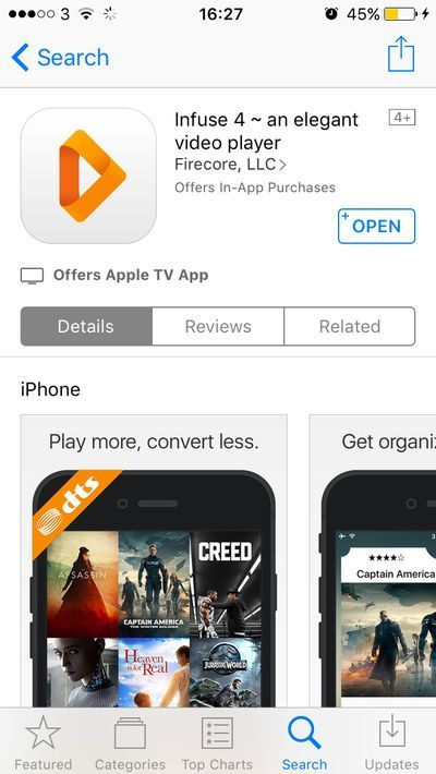 infuse-app-store