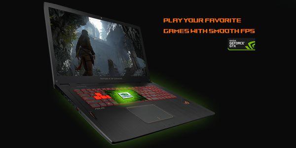 ASUS ROG STRIX GL702 NVIDIA