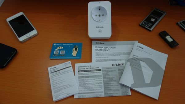 D-Link DSP-W215 Isi