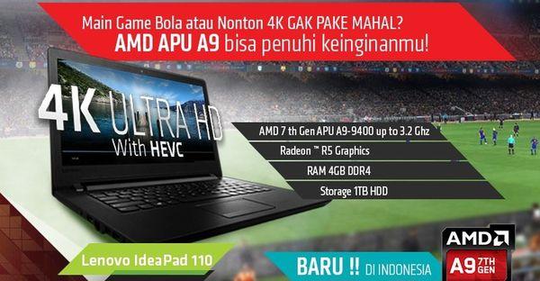 Harga Lenovo Ideapad 110 14ast Spesifikasi