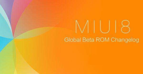MIUI 8 Global Beta ROM Header