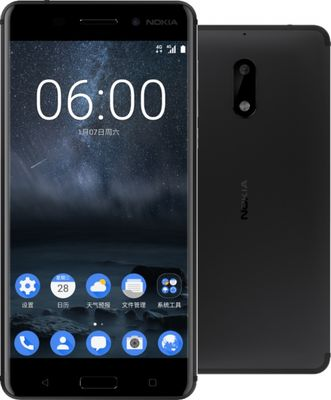 Nokia 6 Desain