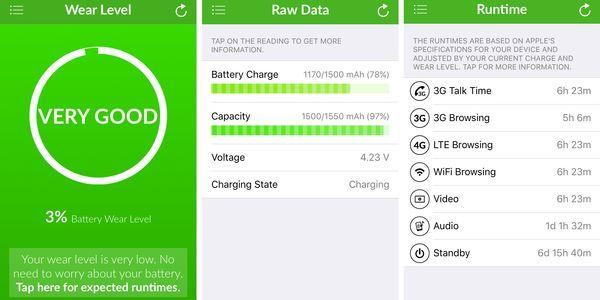 Battery Life iOS