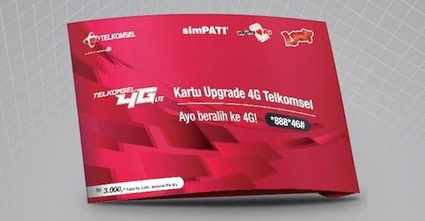 Cara Upgrade Kartu 3G ke 4G Telkomsel