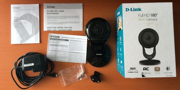 D-Link DCS-2630L Kelengkapan