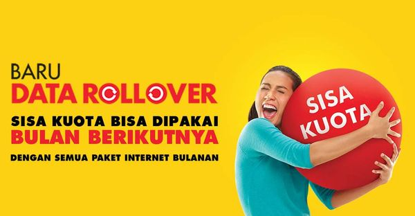 Data Rollover Indosat Header