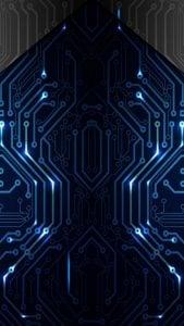 iOS iPhone Wallpaper Electronics Circuit