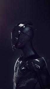 iOS iPhone Wallpaper Robot Body