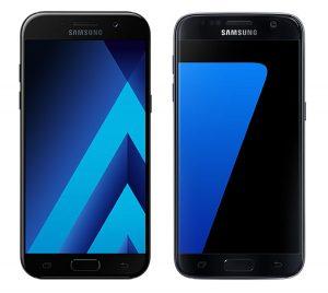 Galaxy A5 2017 vs Galaxy S7