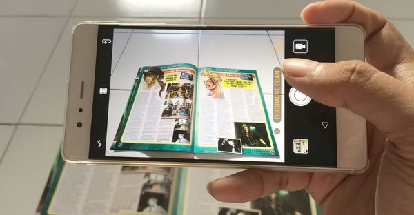 Huawei P9 Scan Header