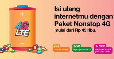 Paket Internet Tri Nonstop 4G Featured