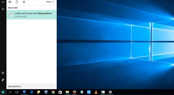 Cara Partisi Hardisk Windows 10 Menu