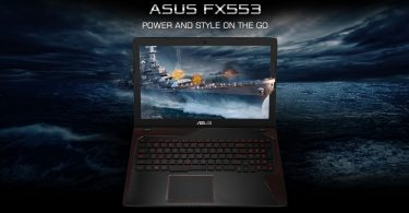 ASUS FX553VD Featured