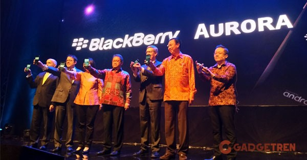 BlackBerry Aurora Launch