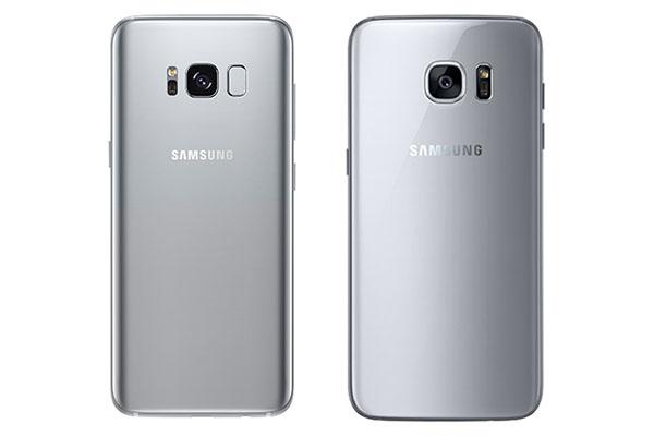 Perbedaan Samsung Galaxy S8 dan Tampilan S7 Edge Belakang