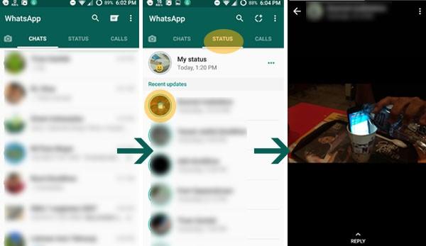 Cara Melihat Status Teman di WhatsApp Terbaru Tutorial
