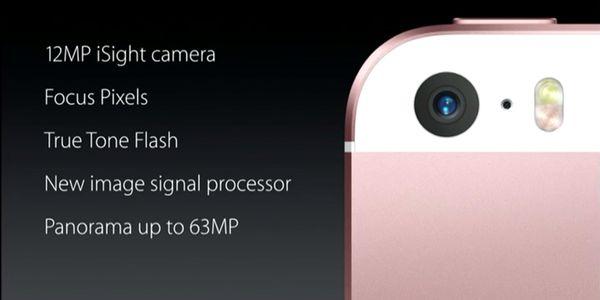 Perbedaan iPhone SE dan 5s Camera