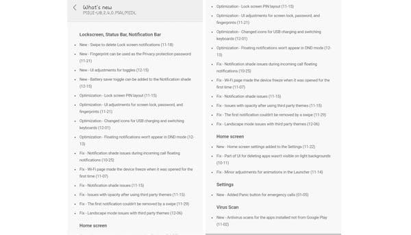 MIUI 8.2.4.0 Changelog