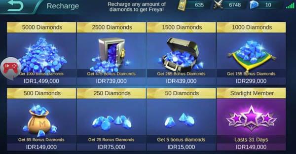 Cara Membeli Diamond Mobile Legend Lewat Pulsa Ios Android Gadgetren
