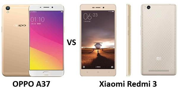 OPPO A37 vs Xiaomi Redmi 3 Header