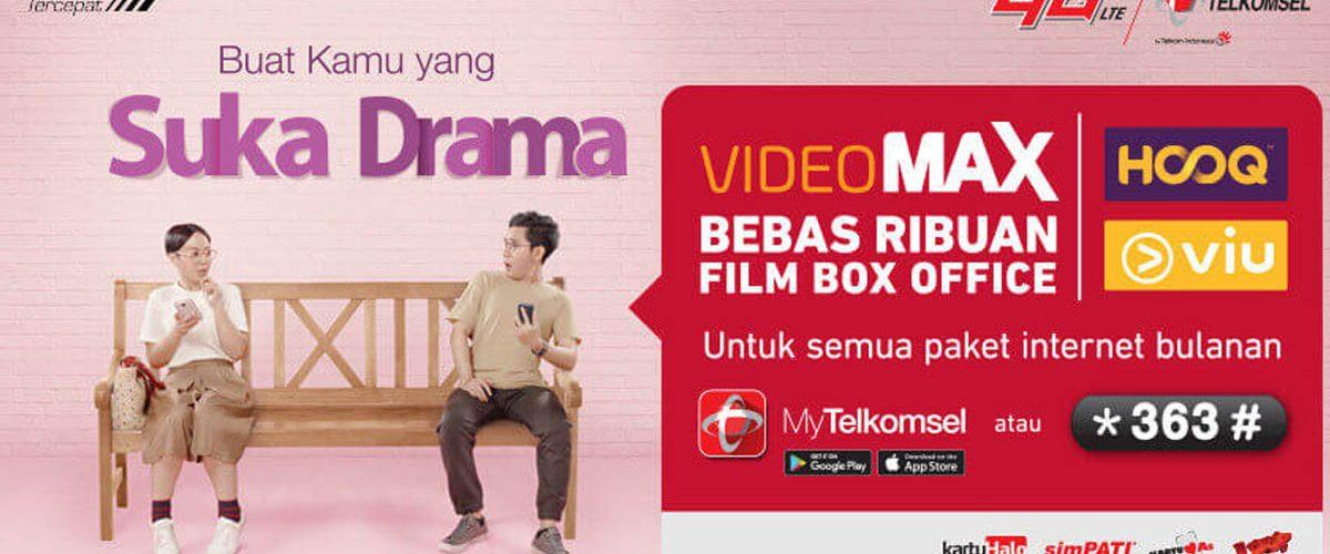 Paket Kuota VideoMAX Telkomsel - Untuk Apa Itu, Cara Menggunakan