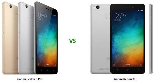 Xiaomi Redmi 3s vs Redmi 3 Pro Header