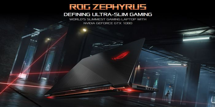 ASUS ROG Zephyrus GX501VI Header