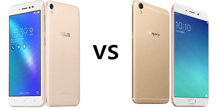 ASUS Zenfone Live vs OPPO A37 Header