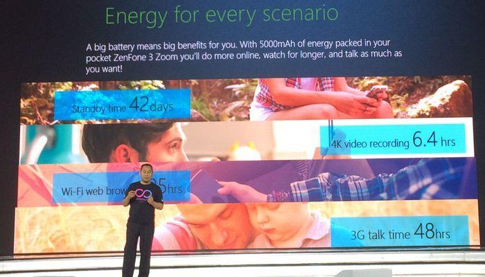 ASUS Zenfone Zoom S Baterai