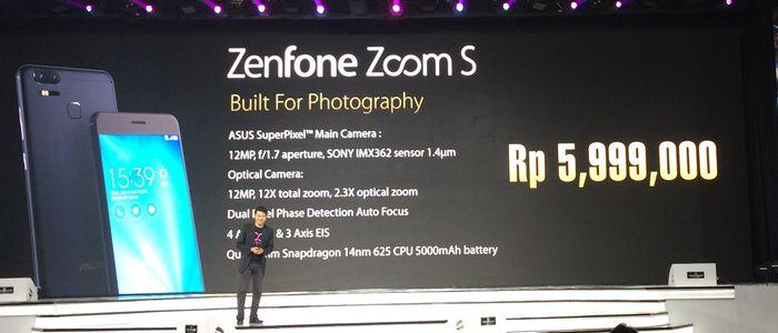 ASUS Zenfone Zoom S Harga