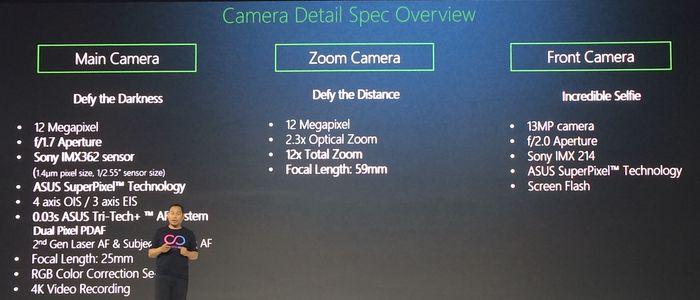 ASUS Zenfone Zoom S Spek Kamera