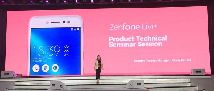 Asus Zenfone Live Berita
