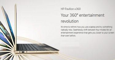 HP Pavilion x360 Featured