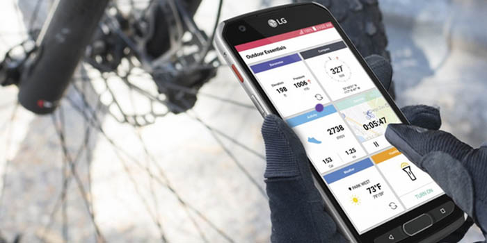 LG X Venture Header