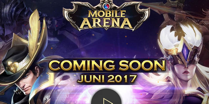 Mobile Arena Garena Indonesia Header