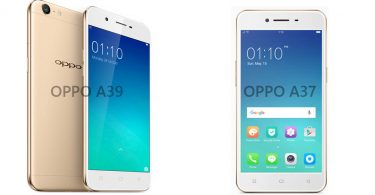 OPPO A37 vs A39 Feature