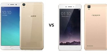 OPPO A57 vs OPPO F1 Feature