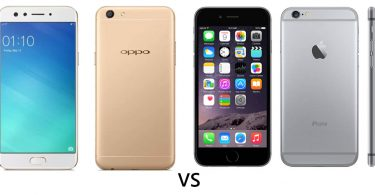 OPPO F3 vs iPhone 6 Feature Fix