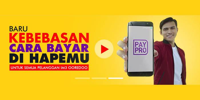 PayPro Indosat Ooredoo Header