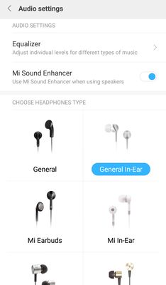 Redmi Note 4 Audio