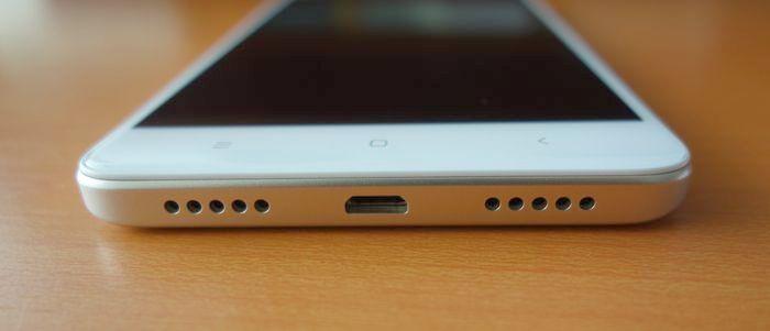 Redmi Note 4 Bawah