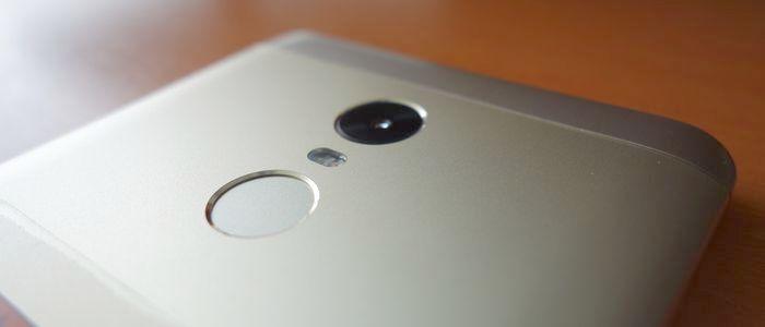 Redmi Note 4 Fingerscan