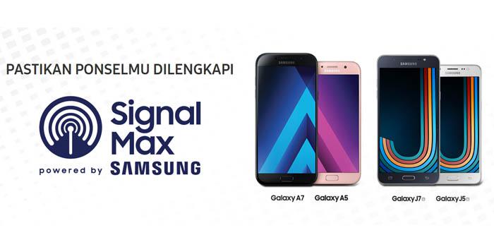 Signal Max Samsung Header